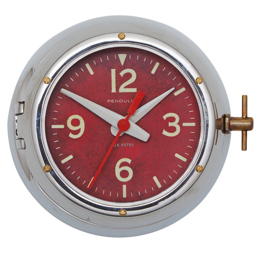 Pendulux Aluminum Deep Sea Wall Clock