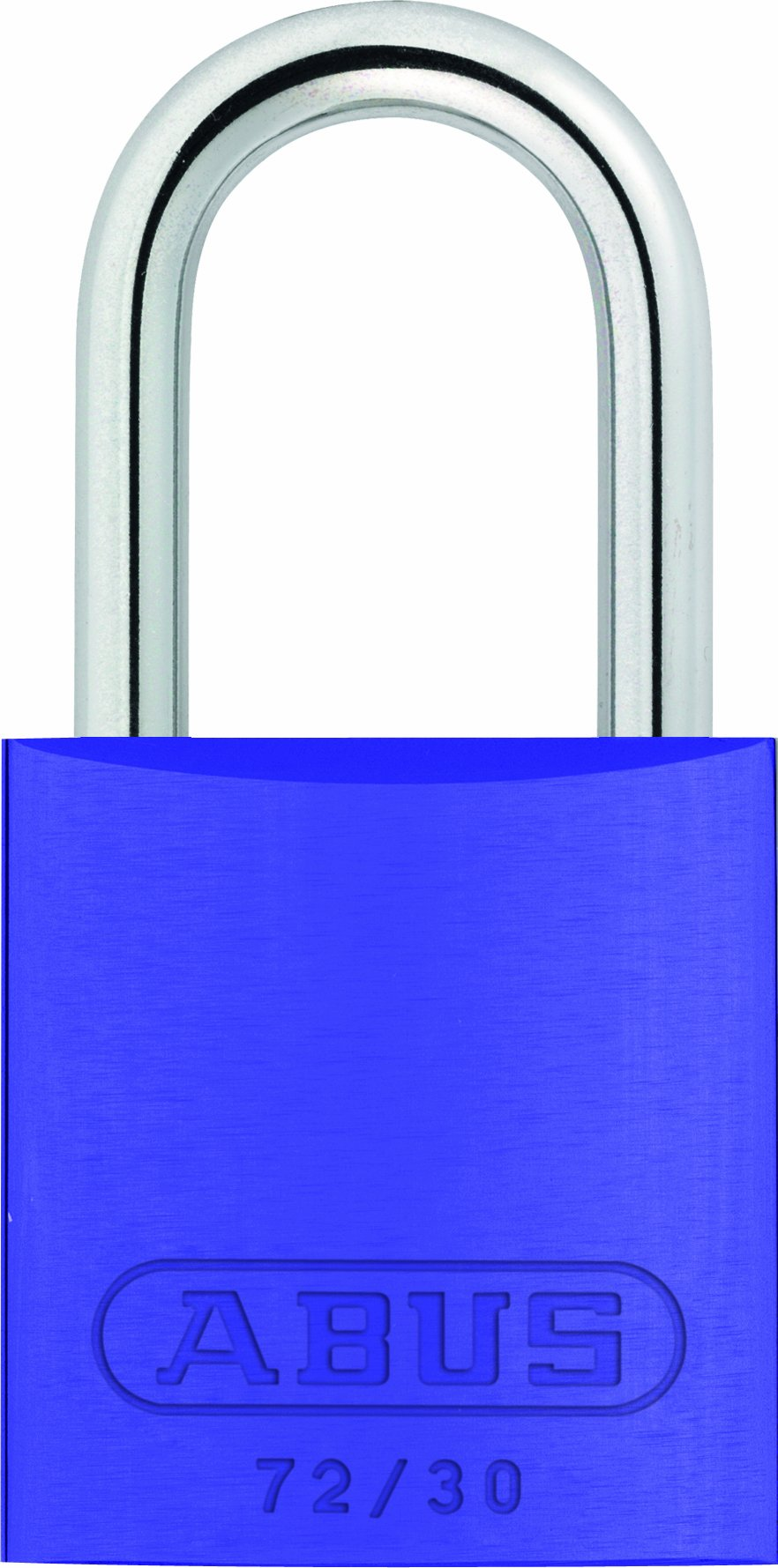 ABUS 72/30 KD Safety Lockout Aluminum Keyed Different Padlock, Purple