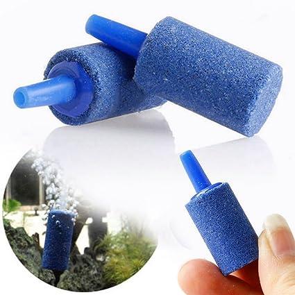 rurah long-last difusor de acuario tanque de peces aireador bomba hidropónicos azul aire piedra