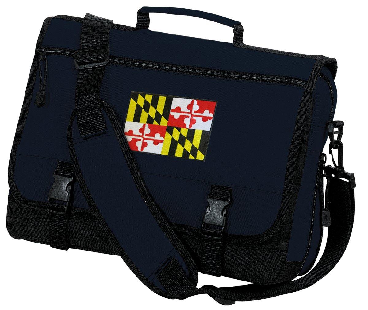 Maryland Laptop Bag Maryland Flag Computer Bag Messenger Bag