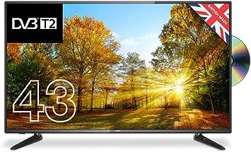 """Cello C43227FT2 43"""" Full HD TV LED con una función de Reproductor ..."""