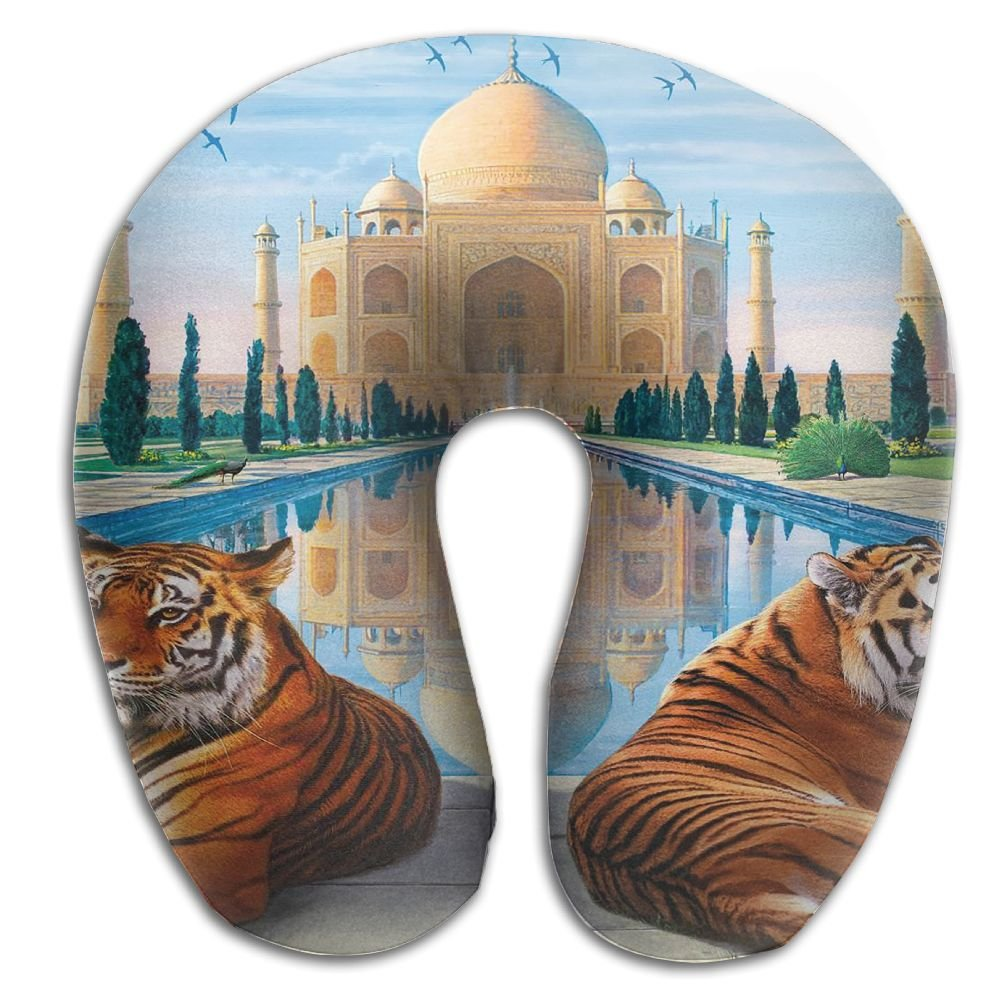 Owen Pullman Travel Pillow Taj Mahal India Memory Foam Neck Pillow Comfortable U Shaped Neck Support Plane Pillow