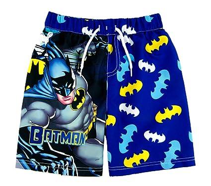 fb9eaf34af Boys Batman Swim Shorts - Ages 3/4, 5/6, 7/8, 9/10 Yrs: Amazon.co.uk ...