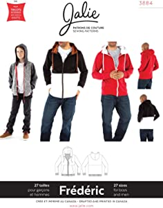 JALIE 3884 - FRÉDÉRIC Hoodie - Sewing Pattern for Children & Adults