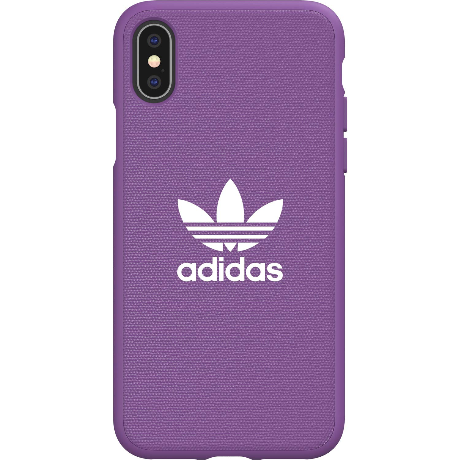 Adidas Originals Moulded Case Canvas For Iphone X Xs Active Purple
