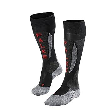 FALKE Austria Race SK5 - skistrümpfe Calcetines de esquí Hombre Negro tamaño 46 - 48: Amazon.es: Deportes y aire libre