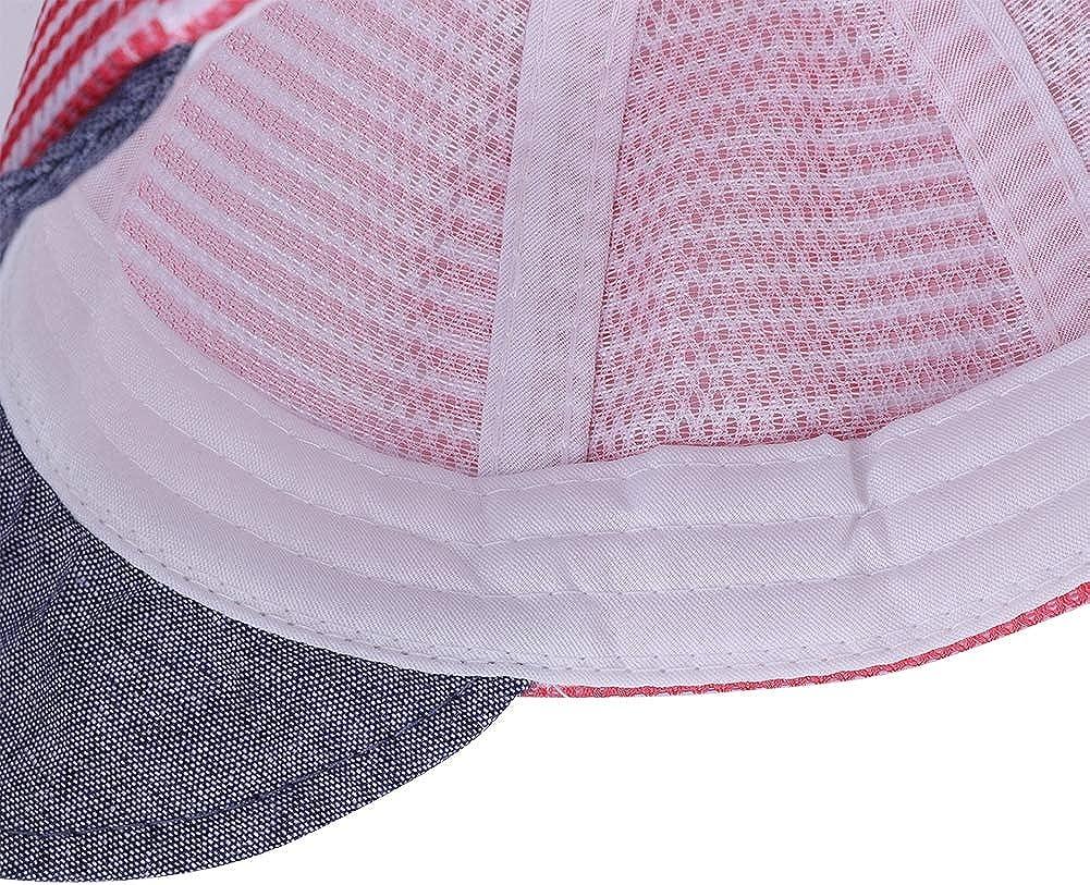 Gorro de Verano ITODA ni/ño Gorro para beb/é Sombrero para ni/ños Sombrero Ajustable para 1-2 a/ños de Edad ni/ña Sombrero de beb/é Gorro para el Sol con Visera Sombrero Infantil de algod/ón