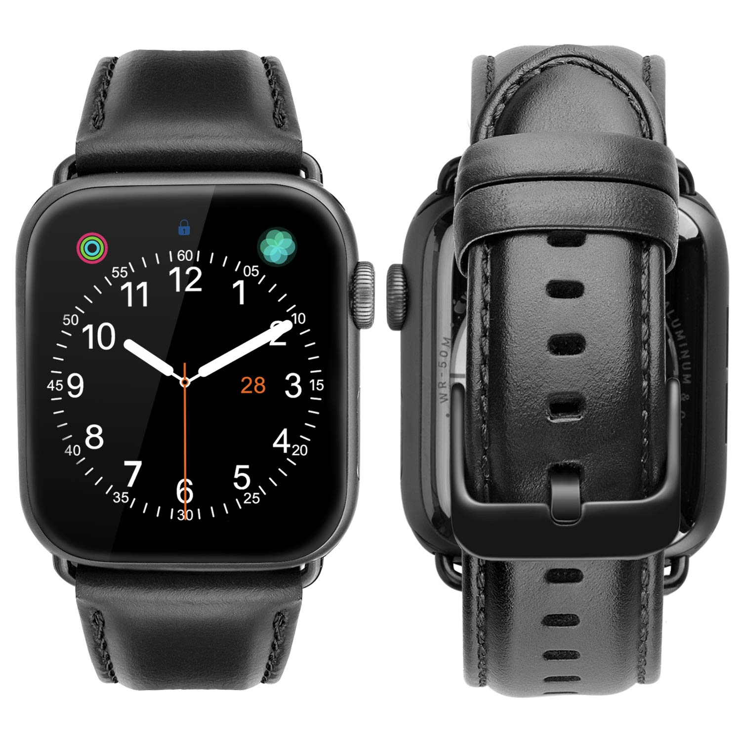Malla Cuero Para Apple Watch (42/44mm) Ibazal [7pkvxvy6]