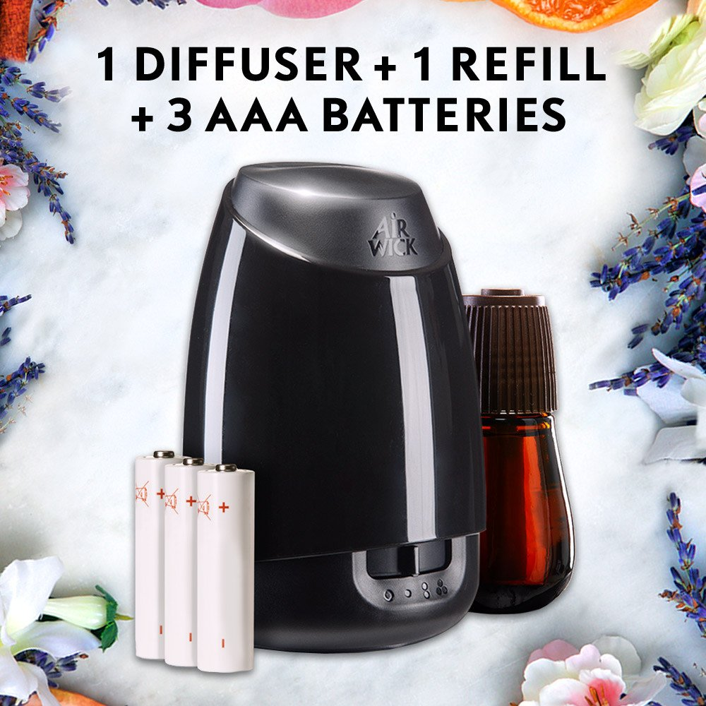 Air Wick Essential Oils Diffuser Mist Refill, Fresh Water Breeze, 3 Count by Air Wick (Image #10)