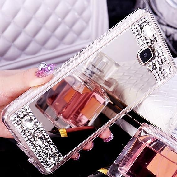 Plating TPU soft Mirror case luxury