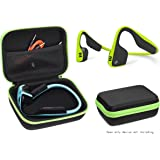 Bone Conduction Headphones Case for Aftershokz AS600 Trekz (SG/OB/IG/SG), Bluez 2, 2S AS500 (S/SM/SR/SN), AS451XB; KSCAT, Sades, DIGICare, allmity, Yaklee, Abco Tech, LQING, longee, HYON, koar