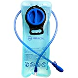 MIRACOL Hydration Bladder 2 Liter 70 oz Reservoir - Best Cycling Hiking Camping Backpack