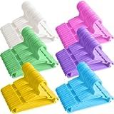 Baby Hangers 100Pcs Kids Hangers Childrens Hangers Child Hangers Plastic Toddler Infant Nursery Hangers Small Baby…