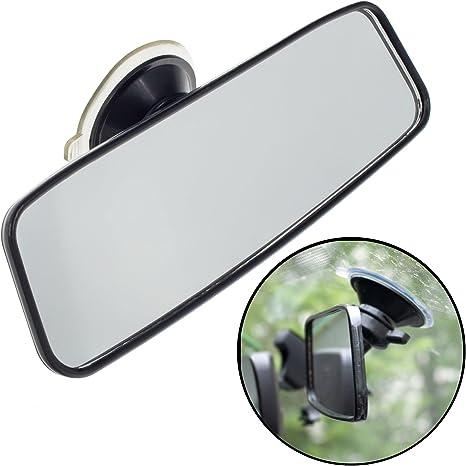 Smartfox Universal Innenspiegel Rückspiegel Sicherheitsspiegel Zusatzspiegel Fahrschulspiegel Mit Saugnapfbefestigung Für Auto Pkw Kfz Lkw Auto