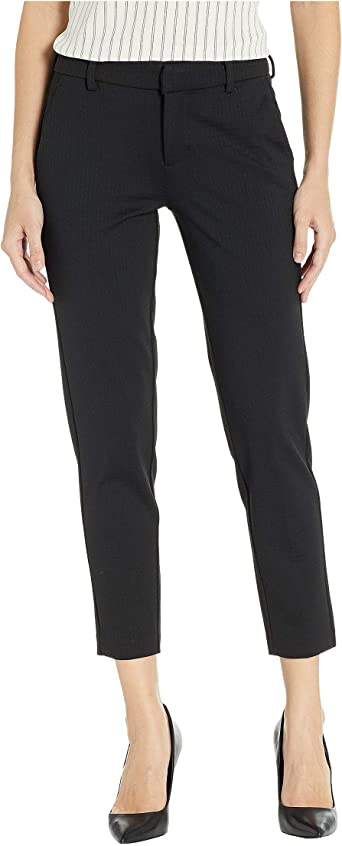 Liverpool Kelsey Trousers In Textured Knit Black 10 26 At Amazon Women S Clothing Store