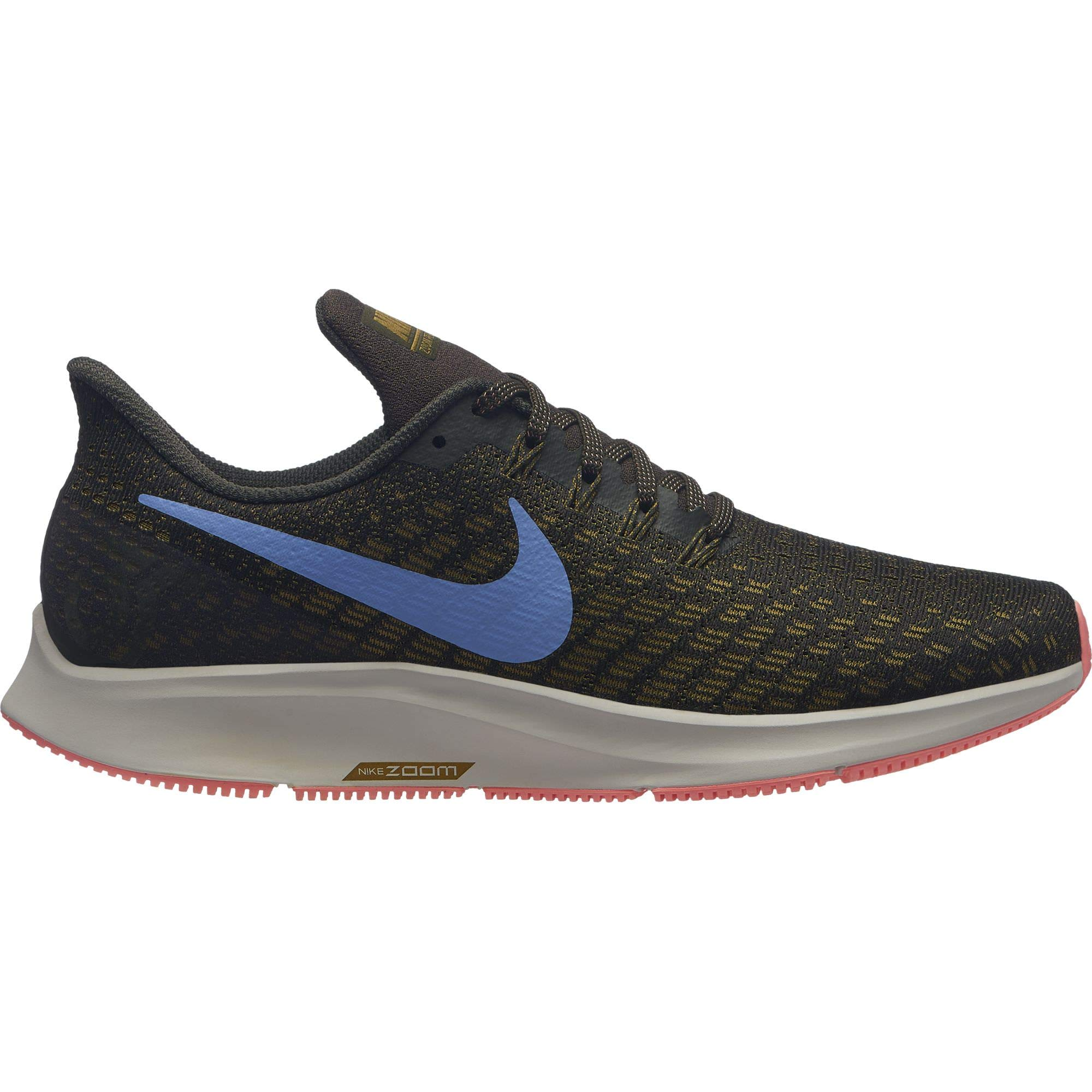 c44e21ed0c5 Galleon - NIKE Women s Air Zoom Pegasus 35 Sequoia Royal Pulse-Olive Flak  10.0