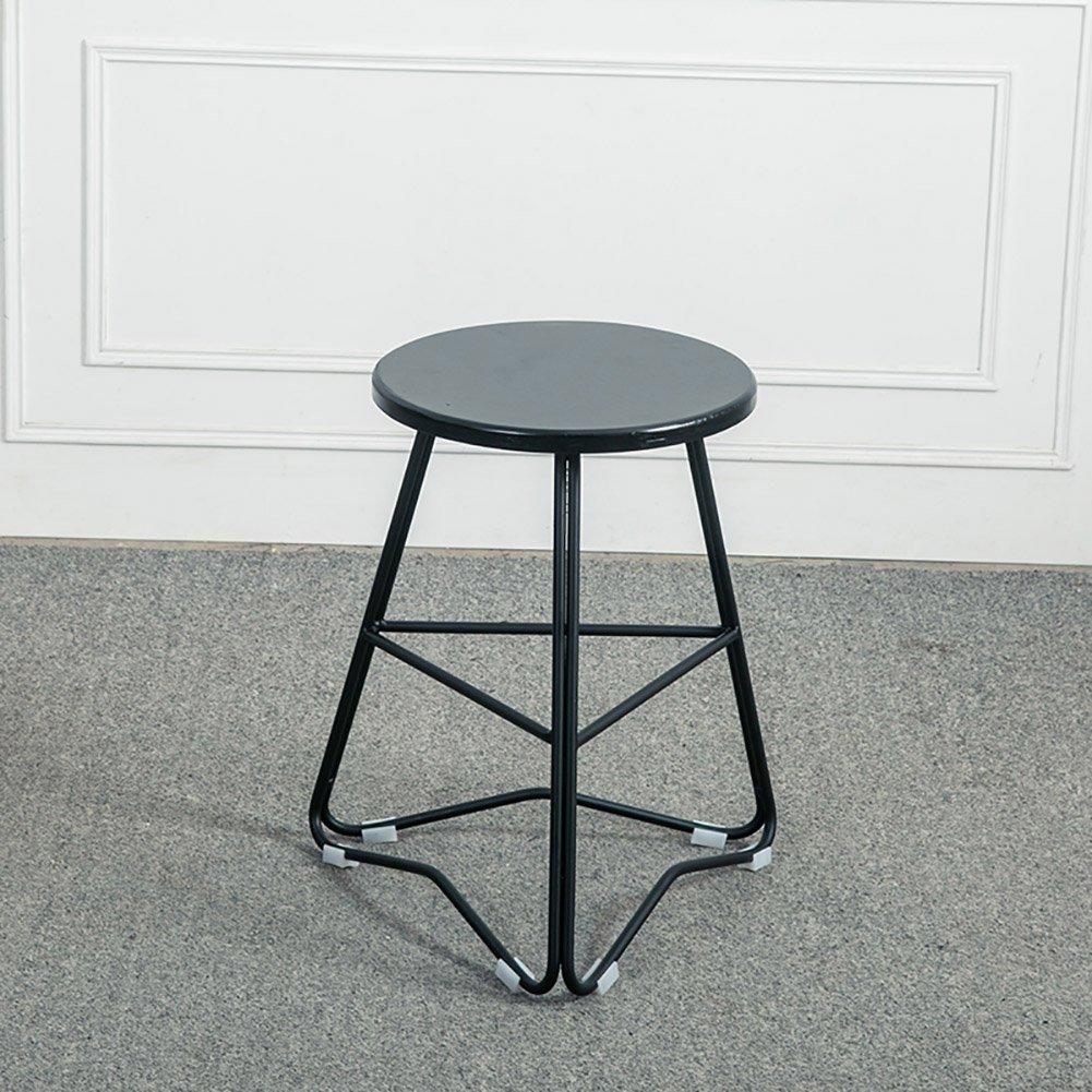 Mesurn JP 素朴なデザイナーのキッチンパブの金属バースツール工業用木材トップソリッドノルディックウッド (色 : 1, サイズ さいず : 45cm) B07F5K8BNW 45cm|1 1 45cm