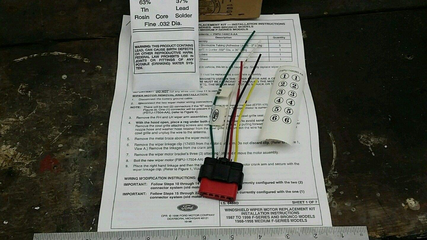 Ford F9PZ14A411AB - Wire Assembly