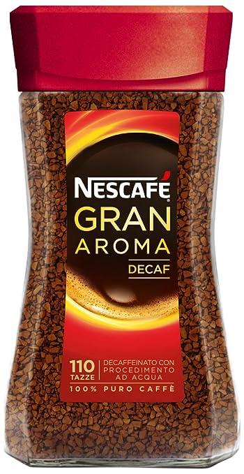 17 opinioni per NESCAFÉ GRAN AROMA Decaffeinato caffè