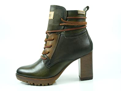 f0206b42e95 Amazon.com   PIKOLINOS Women Connelly W7M-8909 Seaweed Ankle Boots ...