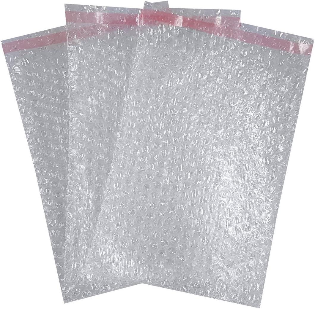 Bolsas de burbujas transparentes Triplast BB3, 180x 235 mm, 200 unidades
