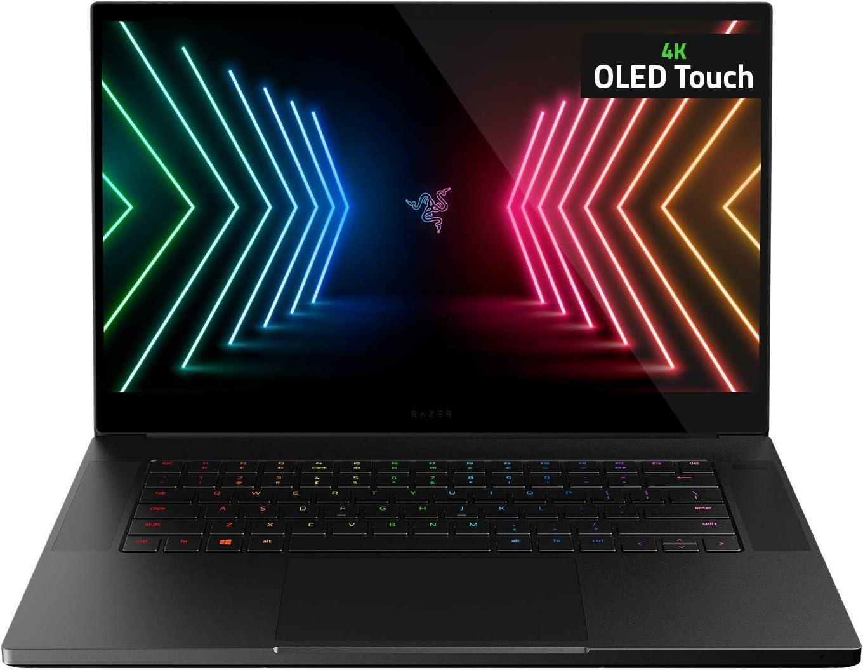 "Razer Blade 15 Advanced Gaming Laptop 2021: Intel Core i7-10875H 8-Core, NVIDIA GeForce RTX 3080, 15.6"" 4K OLED, 32GB RAM, 1TB SSD - CNC Aluminum - THX Spatial Audio - Thunderbolt 3 - Creator Ready"