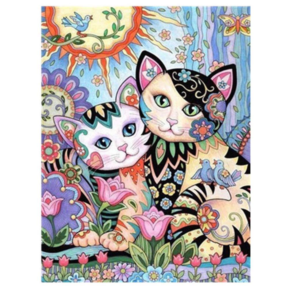Frgiad Pintura por números Bricolaje Pintura al óleo Cuadros Arte de la Pared Decoración para el hogar
