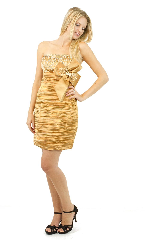 AvaMia, Cocktail Dress, elegante taffeta Evening dress, knee length