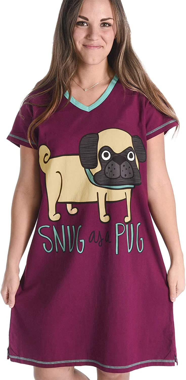 Women's Animal Pajama Nightshirt by LazyOne   Cute Cozy Lazies Nightgowns