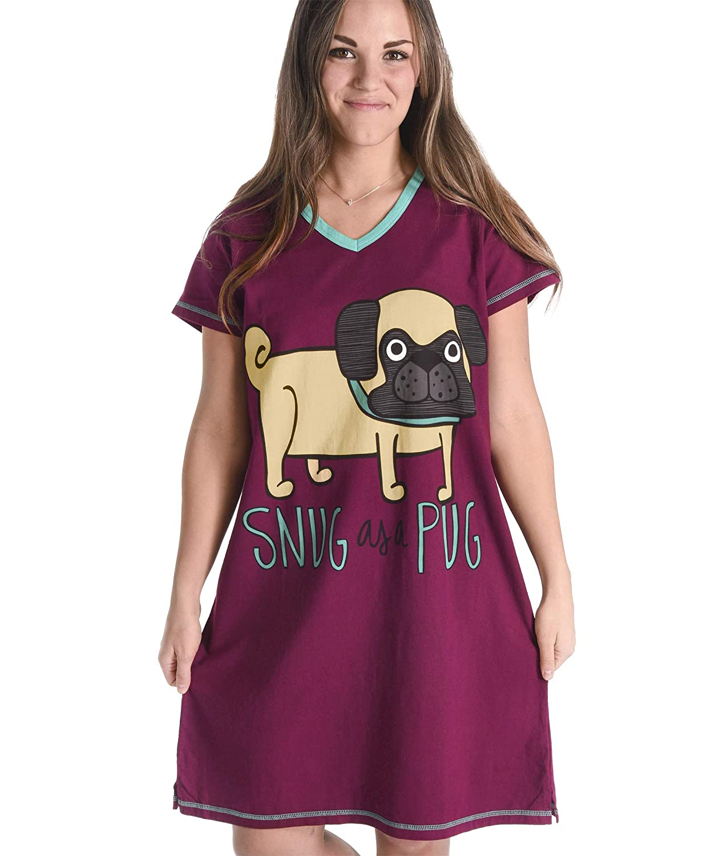 Women's Animal Pajama Nightshirt by LazyOne   Cute Cozy Lazies Nightgowns Lazy One AW019960
