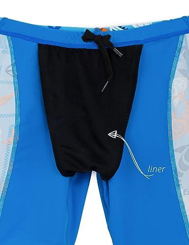 c0a5ec587fd16 Amazon.com: Tuga Boys Jammer Swim Short 2-14 Years, UPF 50+ Sun Protection  Swim Bottom: Athletic Swim Jammers: Clothing