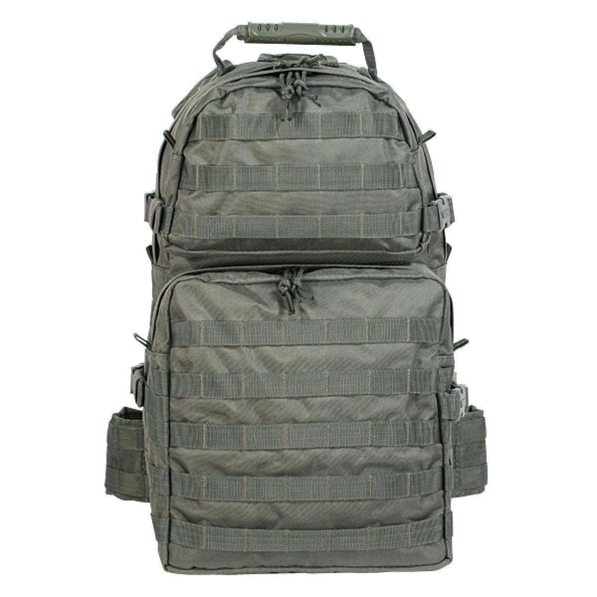 Voodoo Tactical Enhanced MOLLE Medium Assault Pack  OD B0052EU6AI