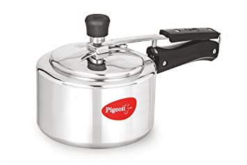 38c5ddecb6d Image Unavailable. Image not available for. Colour  Pigeon by Stovekraft  CaIida Induction Base Aluminium Pressure Cooker ...