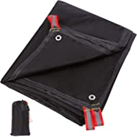 REDCAMP Ultralight Tent Footprint, 82''-87''x55-118'' PU 2000 Waterproof Camping tarp with Drawstring Carrying Bag for…