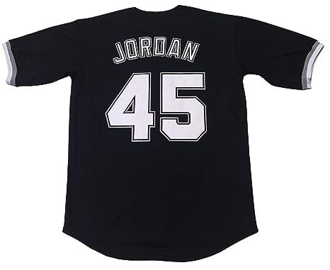 c8b75a716dcbe4 Amazon.com  Kooy Jordan  45 Birmingham Barons Baseball Men Jersey Stitched   Clothing