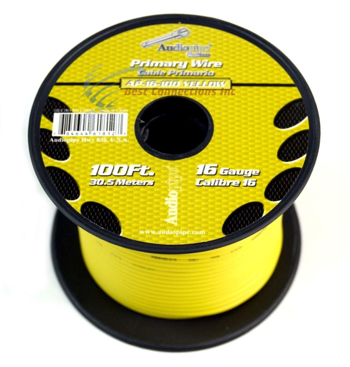 12 GA gauge 100/' Gray Audiopipe Car Audio Home Primary Wire