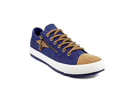 128d5dd70b9 Ripley Star Series Blue Suede Sneakers  Buy Online at Low Prices in India -  Amazon.in