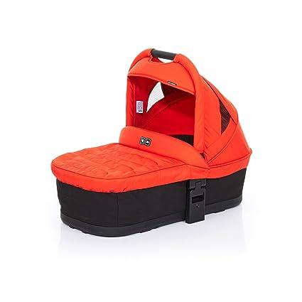 ABC Design 91252609 Carrycot Plus capazo blanda para Cobra y Mamba, Negro/Flame