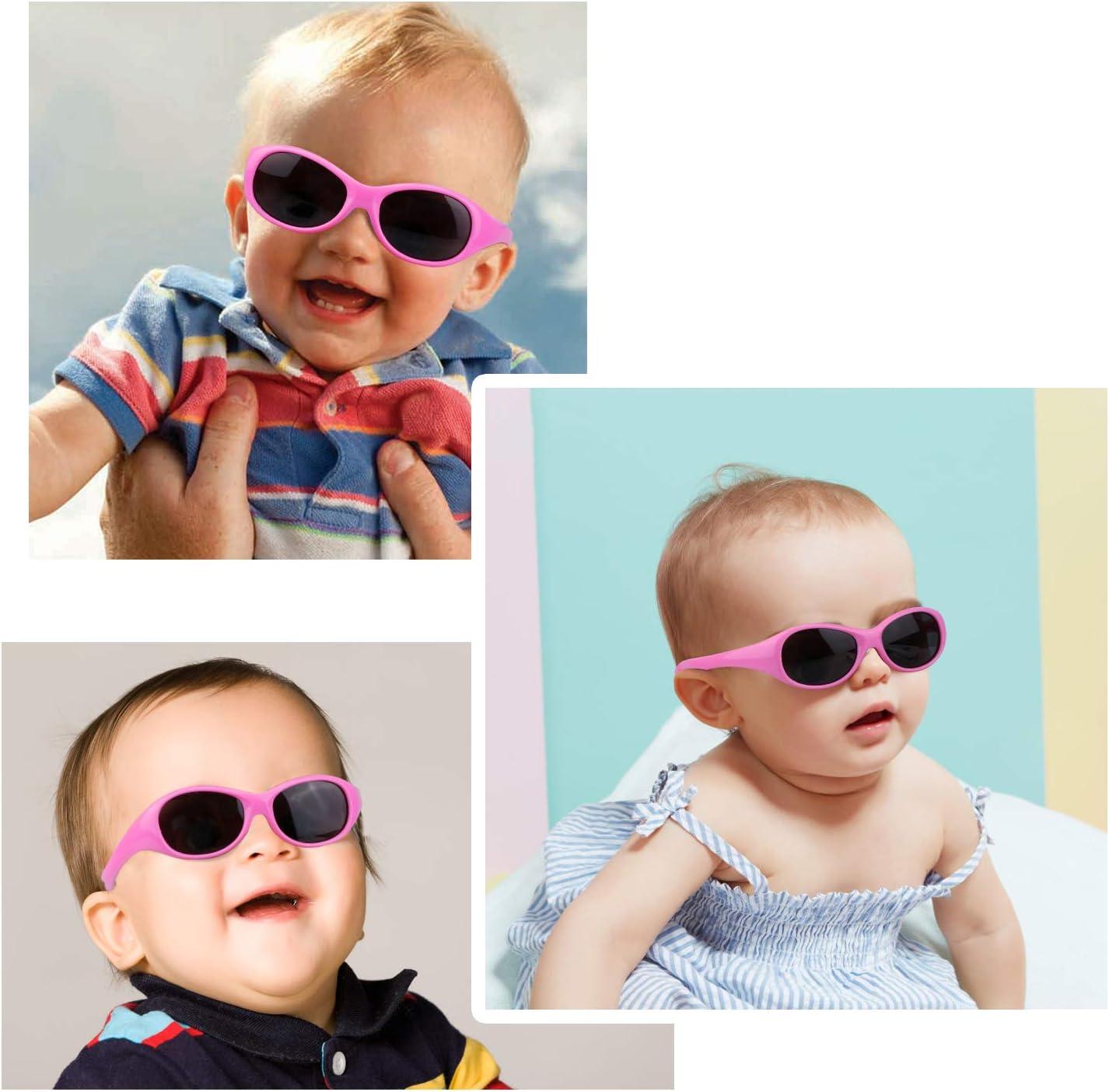 UV Schutz polarisierte Kleinkind Sonnenbrille HIFOT Baby M/ädchen Junge Sonnenbrillen Alter 6 Monaten bis 2 Jahre Flexible Kinder Sonnenbrillen Tempel Nicht faltbar
