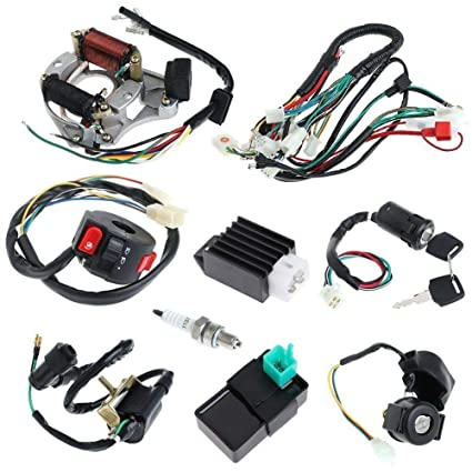 amazon com cpwtm cdi wire harness assembly wiring for atv electric Ford Wiring Harness image unavailable