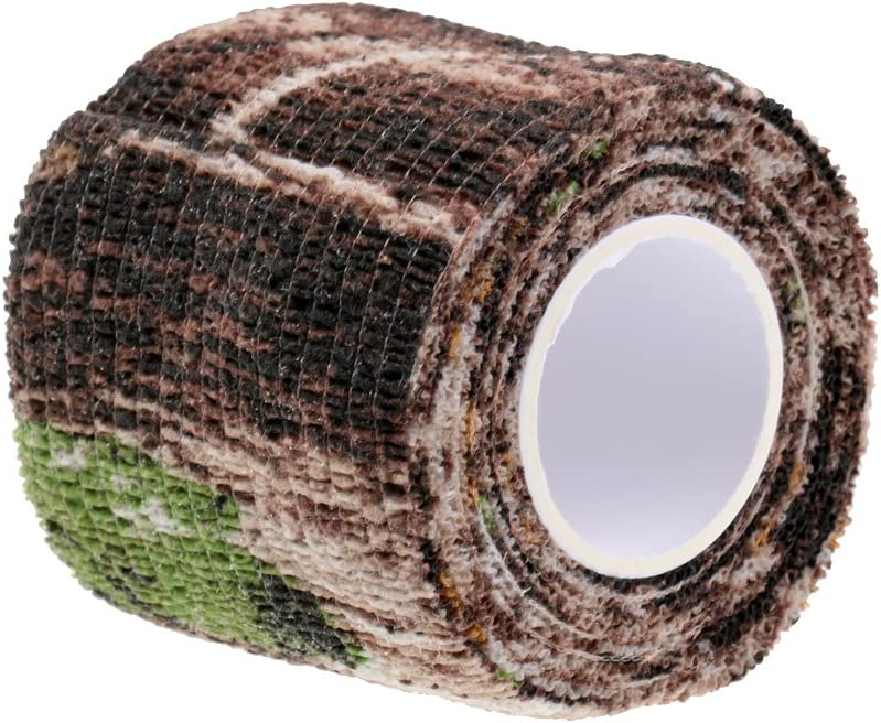 SM SunniMix 5 x Outdoor Tarnband Camouflage Camo Tape
