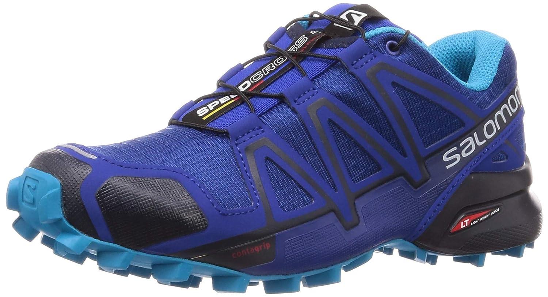 Bleu (Mazarine bleu) 42 EU Salomon Speedcross 4, Chaussures de Trail Femme