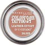 Maybelline Color Tattoo Leather 98 Creamy Beige - eye shadows (Beige, Creamy Beige, Shimmer, Italy)
