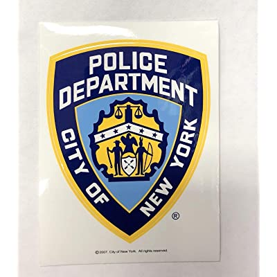 NYPD New York Police Department Offical Licensed Sticker Decal Shield: Automotive