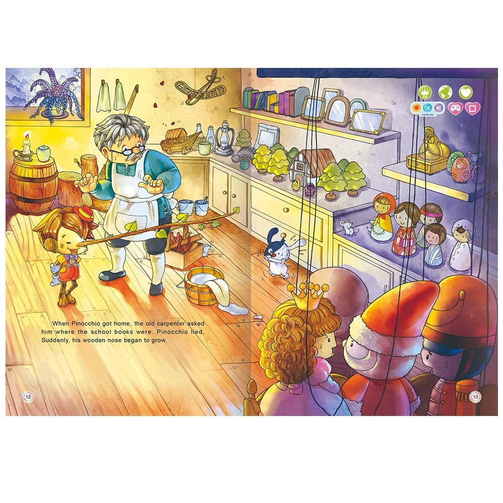 Learn-to-Read System Works with Smart Koalas Smart Pen Fairy Tales Kids Aged 1-6 Years 3 Talking Books Bundle