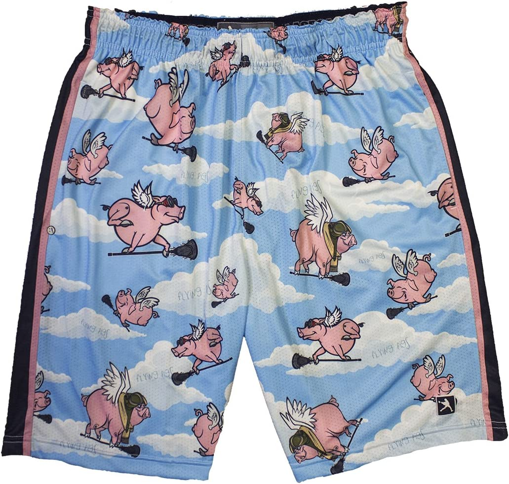 Flying Pigs Lacrosse Shorts