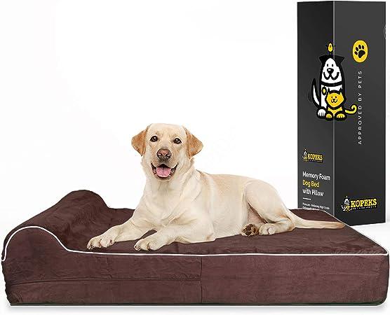 Cuscini Ortopedici Per Cani.Kopeks Letto Ortopedico Per Cani In Schiuma Viscoelastica Cuccia