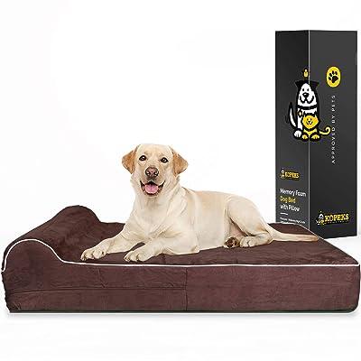 7-inch Thick High Grade Orthopedic Memory Foam Dog Bed