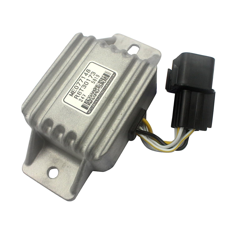 Me049233 R8t30171 Safety Relay Alternator Sinocmp Mitsubishi Electric Pallet Jack Wiring Diagram Regulator For 320c 320b 312b E320c E320b E312b Excavator Parts