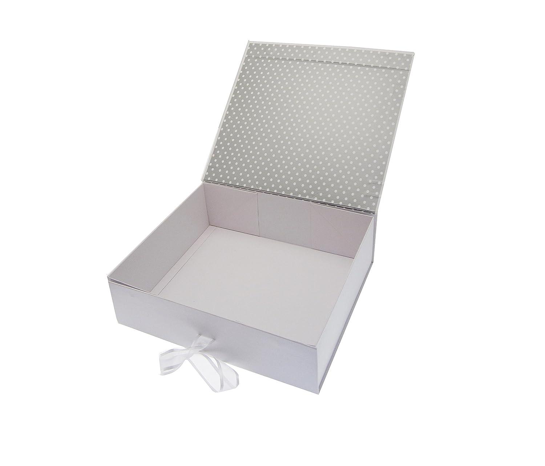 Voiture Classique Blanc Coton Cartes danniversaire 18/Ans Blanc Petite bo/îte Souvenir